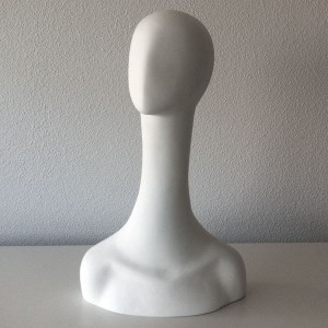 Featureless female head in fiberglass mod.2