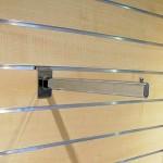Straight hanging bracket for Panel slats