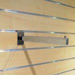 Straight hanging bracket for Panel slats