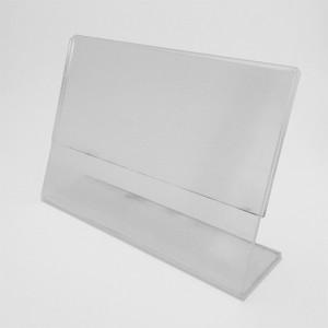 Expositor porta cartells per sobretaula en diverses mides