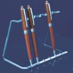 Display for 6 or 10 ball-point or fountain pens