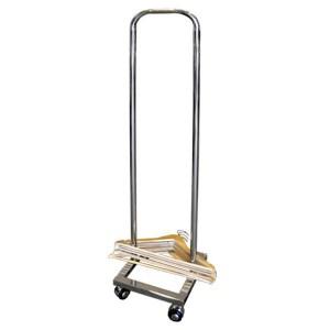 Accumulator hangers with wheels