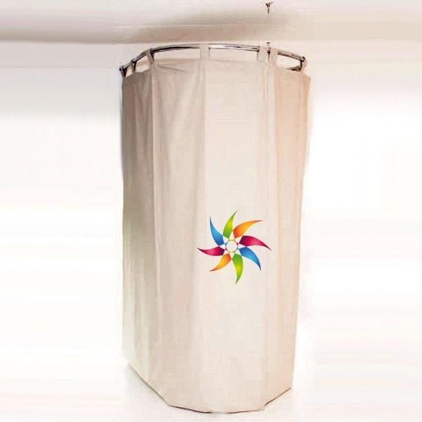 Cabina prova curvo di 98 x 98 cm mcm for Affitti di cabina iowa lansing ia