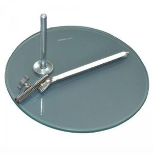Base nach Schaufensterpuppe aus gehärtetem Glas
