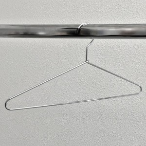 Metal hanger 40 cm. thick rod 4 mm.