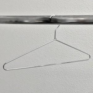 Perxa de metall 40 cm. vareta gruixuda 4 mm.