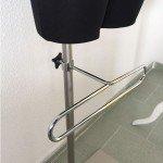Pants hanger on the basis