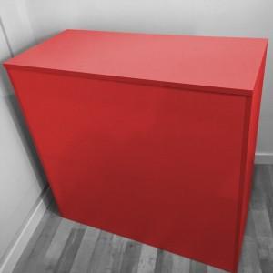 Mostrador de madera 117 X 50 X 100 cm. en varios colores