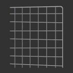 chromed gloss steel mesh in various sizes
