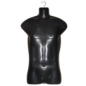Cintre silhouette d'homme demi-volume pour maillots de bain