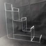 Ledge display various heights