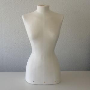 Maniquí Bust de dona amb funda en tela de lli en diverses talles