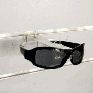 Glasses display for lick panel