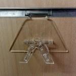Expositor de gafas para panel de lama MOD.2