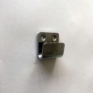 Supporto de griglia d'acciaio a il muro