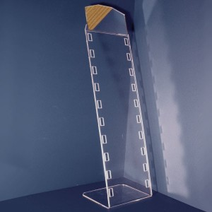 Glasses display with mirror for 3-6-10 units