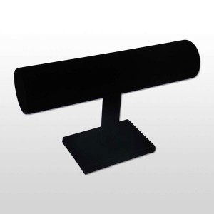 Expositor de polseres en vellut negre