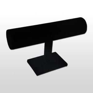 Expositor de pulseras en terciopelo negro