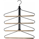 Metall kleiderbügel für 4 Hemden 42 cm.