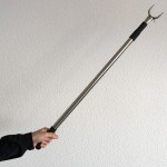 Telescopic pole picks hangers 87-145cm.
