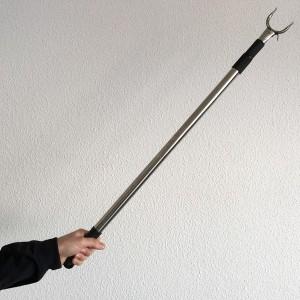 Pôle télescopique pour prêndre cintres 87-145cm.