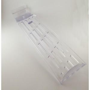 Bandeja soporte inclinada giratoria de calzado para panel de lamas