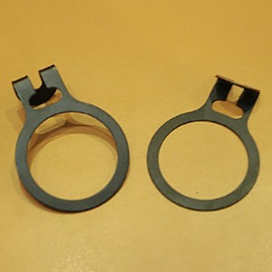 Metal ring to prevent theft 35mm. black