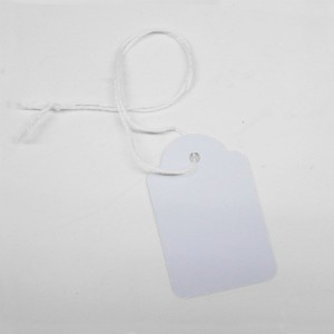 White perforated labels (100 units)