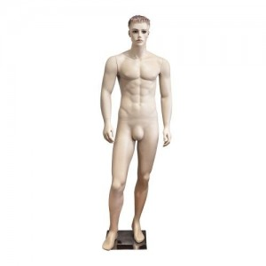 Gentleman mannequin sculpted hair mod. Charles