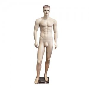 Maniquí caballero pelo esculpido mod. Carlos