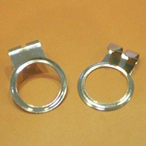 Anilla metal seguridad antirrobo 32mm. diámetro interior