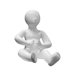 Lacquered baby dummy featureless