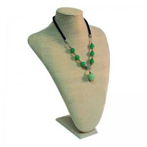 Expositor de collares en lino