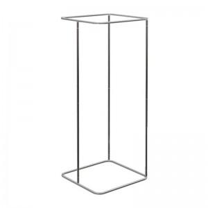 Estructura de provador quadrat 70x70cm