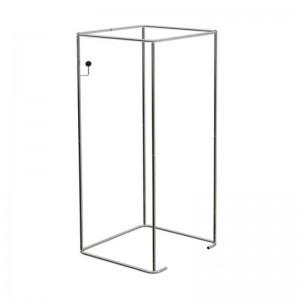 Estructura de provador quadrat 90x90cm