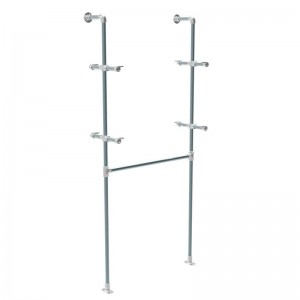 Rohr module series wall hanger bar and supports shelves