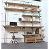 Mòdul de paret sèrie Rohr amb 5 suporta prestatges