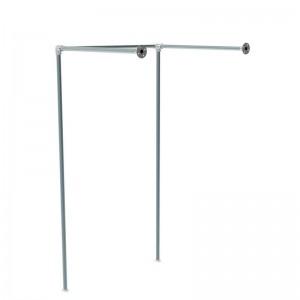 Struktur lineare Reihe Tester Wand Rohr