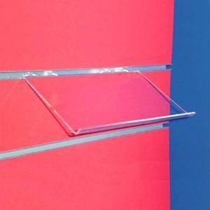 Expositor inclinat per panell de lames