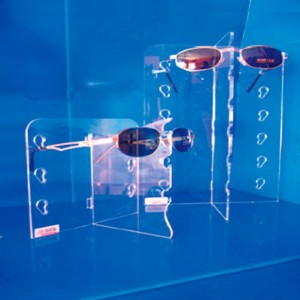 "Glasses exhibitor ""T"" removable for 1-3-6-12 units"