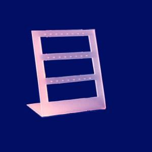 Expositor de pendientes de 3 ventanas 12 pares
