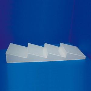 Expositor 4 bases bajo vitrina de mostrador