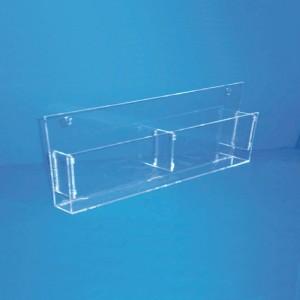 Aussteller Broschüren A6 horizontalen Doppel