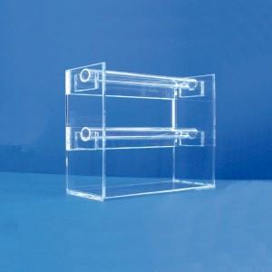 Expositor de polseres 2 altures en U amb tub