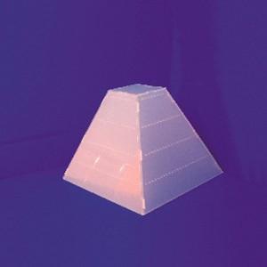 Espositori a forma di piramide orecchini 128 paia