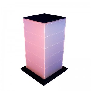 Expositor de pendents forma de prisma de 120 parells
