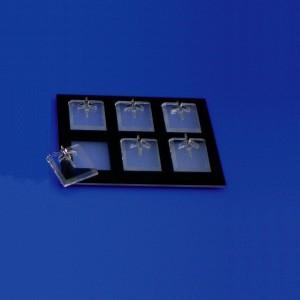 Anelli di espositori con basi 6-12 unità