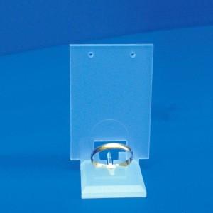 Exposants anneau et boucles d'oreilles bouchon 1 Set