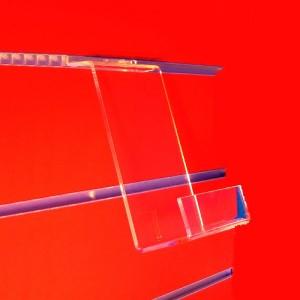 Display stand 1 CD for slat panel
