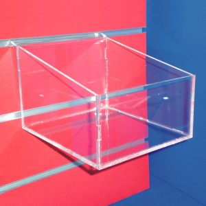 Aussteller geneigte Box Panel Lama